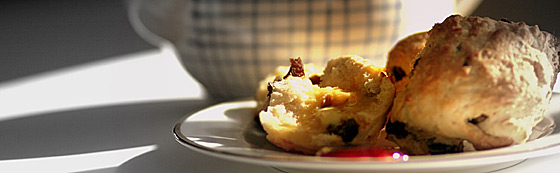 scones-on-plate